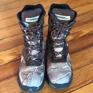 Gander Mountain Camo Waterproof Boys Boots Size 4